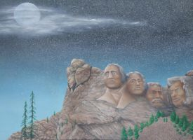 mount rushmore by tlm49