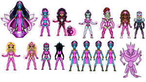 star sapphire corps by digikevin10