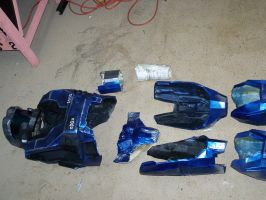My Halo Reach Armor WIP by NtmrMoon