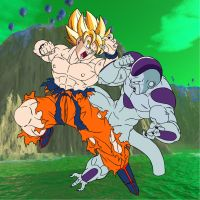 Goku vs Freiza part ll by mastertobi