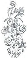 Flowers ornamentation Design by 2Face-Tattoo