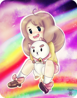 BEE AND PUPPYCAT by LilRedGummie