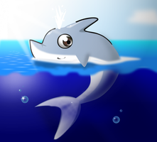 Delfin by OSuKaRuArT