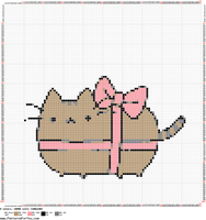 Pusheen The Cat Pink Lace by Nenetchy