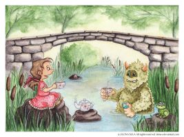 Creature From Under the Bridge by Ilona-S