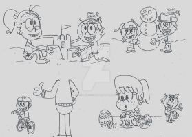 Loud House - Childhood Restorations by CelmationPrince