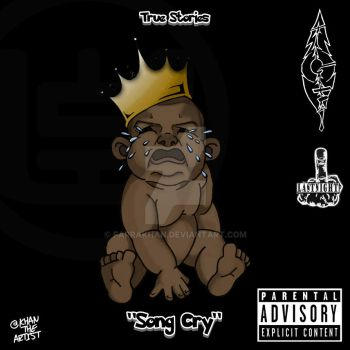 BabyGod True Storries - Song Cry Cover Art by Farrakhan