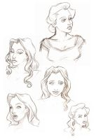 Christine Design Sketches by bananaboo2