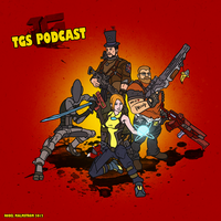 TGS podcast Fan art Borderlands 2 style by crotchbandit