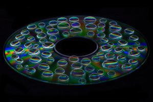 Light Disc Painting 2 by CHabio