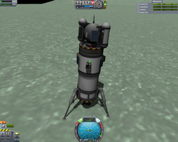 Excursia probe on Minmus by Sebitzu