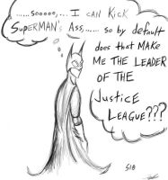 Leader of the Justice League?? by SINGLETON930