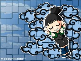 Shikamaru in Clouds by MooguriKlaine