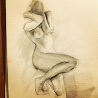 Life Drawing by blackpapermoon95