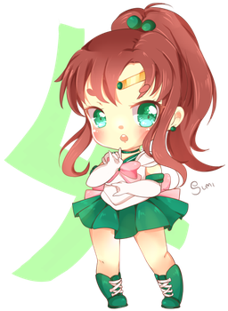 Sailor Jupiter! by suminoio