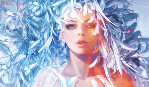 Ice Queen on FIRE by Ayanashii