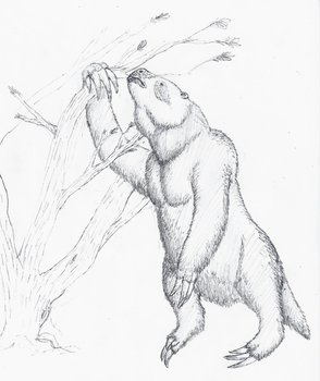 Megatherium by The---Other---One
