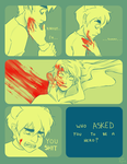 [homestuck] dont be an hero by kappakeki