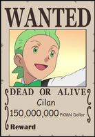 SPBWX Wanted Poster Cilan by Aquamimi123