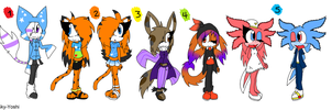 Pre-Ordered Adoptables 3 +JA+ by Sky-Yoshi