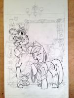 MLP FF 8 cover progress 1 by andypriceart