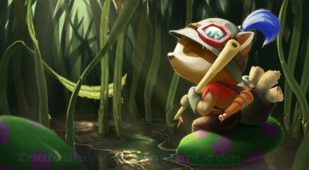 Teemo by Zoulouluvu