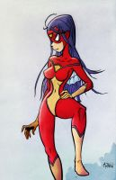 Spider-Woman by matthewart