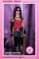 SAKURA ROAD COSPLAY 01 by GERCROW