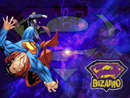Bizarro vs Superman by Superman8193