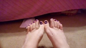 Purple Guy Toes (attempt) by Lenzie02