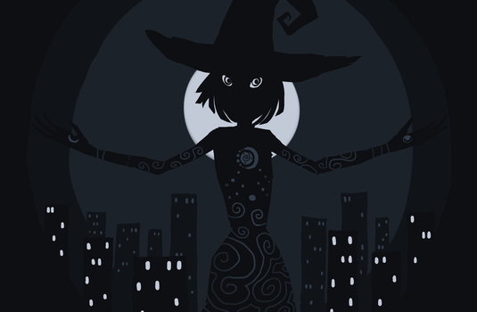 J25 - Moon Witch by yansusi