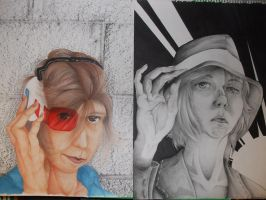 Self Portraits - Realistic? by Lycorisu