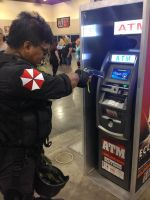 Phoenix Comicon 2014 Give me my money (3) by Demon-Lord-Cosplay