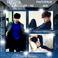 +LEE JONG SUK   Photopack #OO3 by AsianEditions