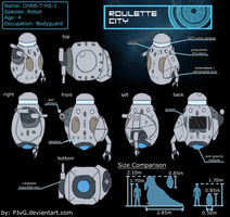 Robot Reference Sheet : for Roulette City OCT S2 by PJvG
