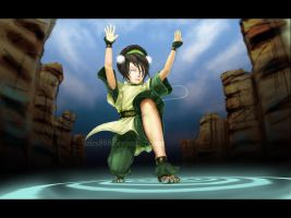 Toph - Canyon Bender by Aries888