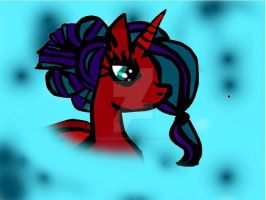 My OC pony Princess Dream Cross by ParisLondonFierwork