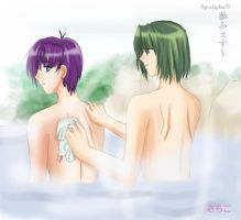 Sanbou-su in Hotspring by Asaphira