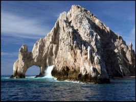 Cabo Arch from Sea of Cortez by SZenz
