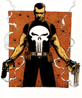 The Punisher_COLORED by MittelFinger