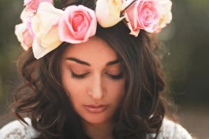 Roses in Her Hair II by hannahjenny