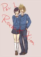 KH : Roxas X Xion by yoruven