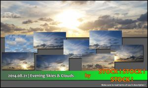 2014.08.21 | Evening Skies and Clouds by Stock-Stock-Stock
