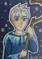 Jack Frost ACEO card by LadyNin-Chan