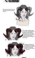 Drawing Horns Tutorial by Mrs-Robinson