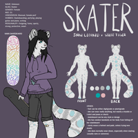 Skater ref by pandapoots