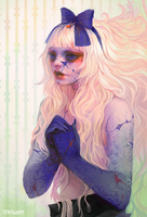 porcelain skin by Chaotic-Muffin