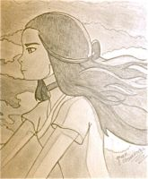 Katara - Going Somewhere. by greenshamrocks