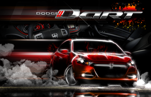 2012 Dodge Dart DA Entry by RaynePhotography