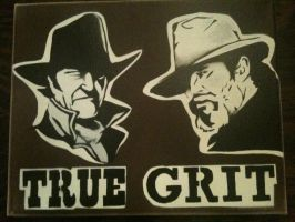 True Grit by Stencils-by-Chase